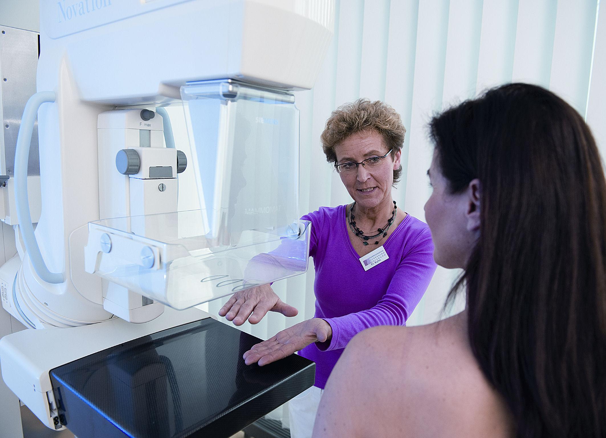 Erwartungen Prognose von Brustkrebs