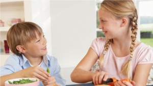 Übergewichtige Kinder brauchen Eltern als Vorbilder