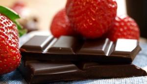 Dunkle Schokolade hält gesund