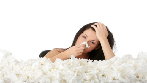 Grippaler Infekt, Erkältung, Grippe, Influenza