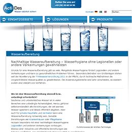 Wasseraufbereitung zum Schutz der Gesundheit