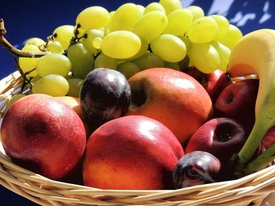 Früchtebox, Obstkorb