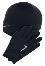 Mütze und Handschuhe wärmen sensible Körperpartien.
